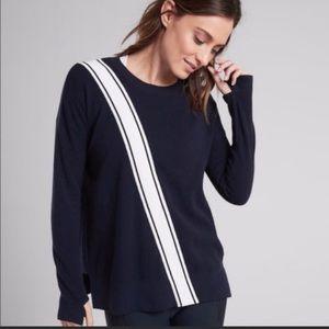 Athleta Navy Streetwise Sweater Size Small